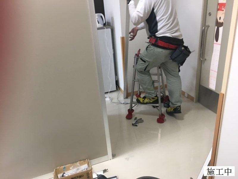 宝塚市 病院 病室扉設置工事イメージ06
