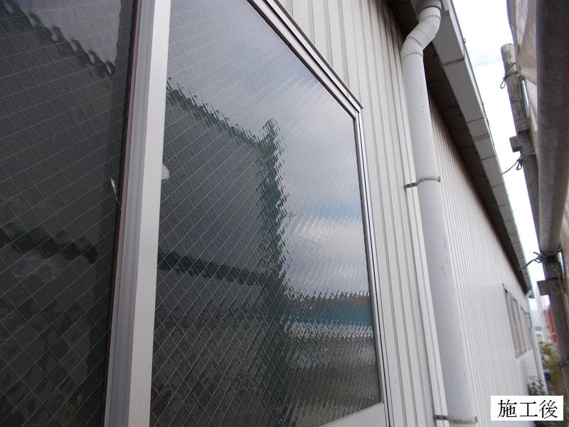 伊丹市 工場 災害復旧屋根・窓ガラス修繕イメージ03