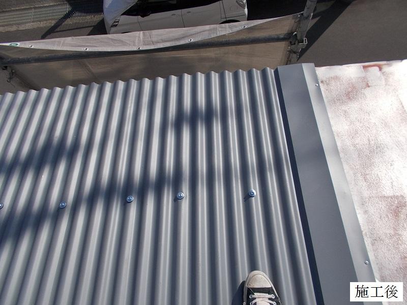 伊丹市 工場 災害復旧屋根・窓ガラス修繕イメージ01