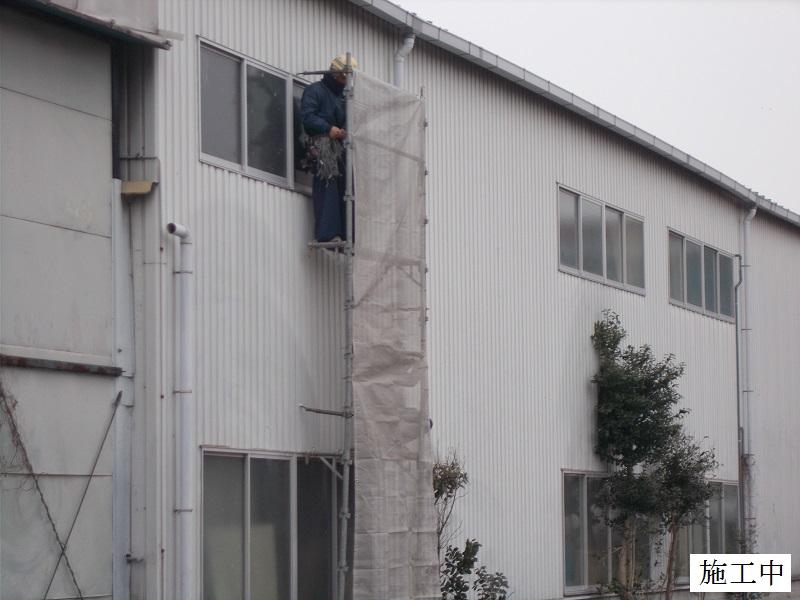 伊丹市 工場 災害復旧屋根・窓ガラス修繕イメージ04