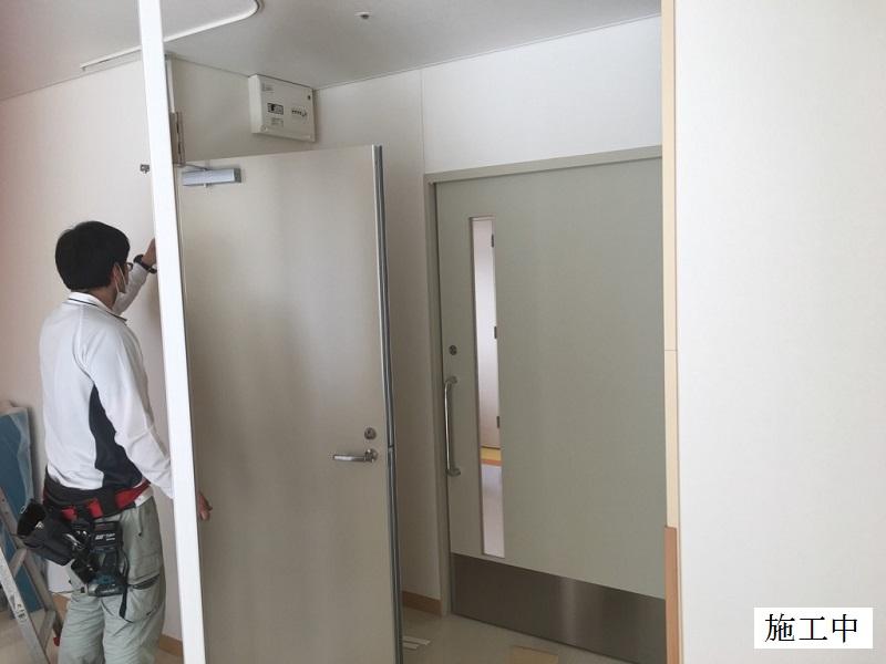 宝塚市 病院 病室扉設置工事イメージ05