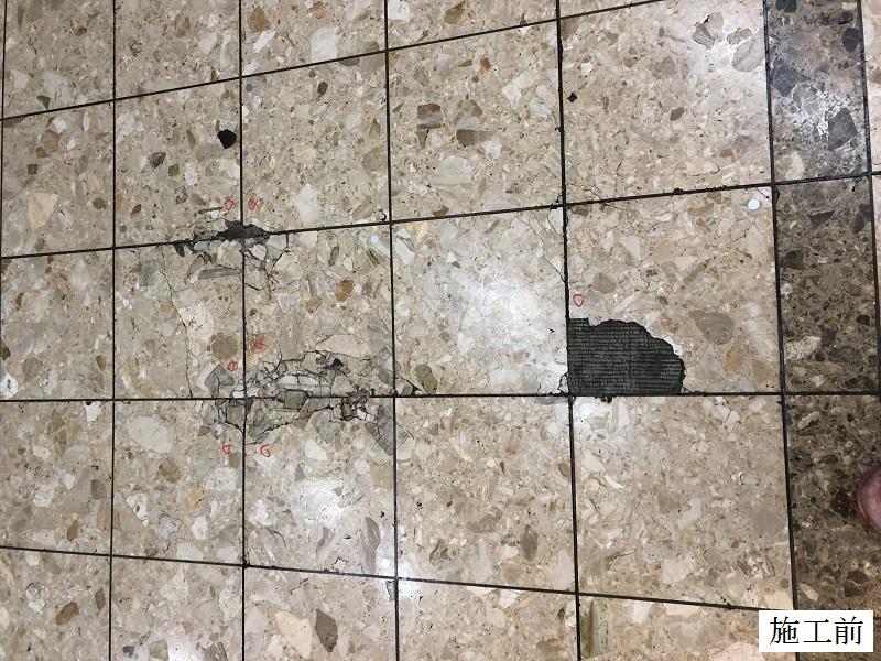 宝塚市 商業施設 第一棟石材修繕工事イメージ02