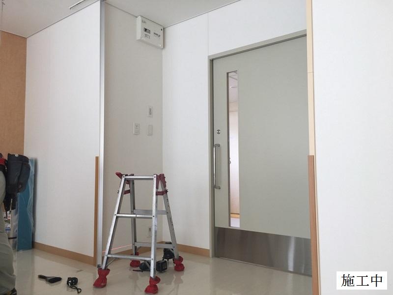 宝塚市 病院 病室扉設置工事イメージ03