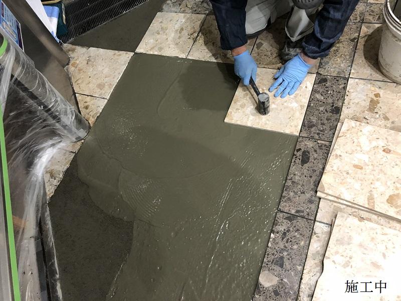宝塚市 商業施設 第一棟石材修繕工事イメージ07