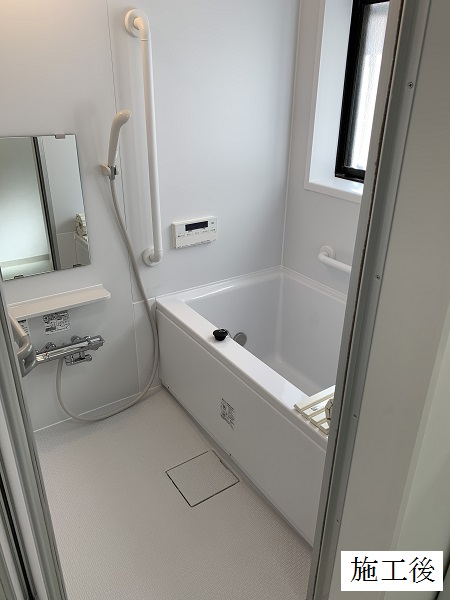 尼崎市 個人邸 浴室改装工事イメージ01