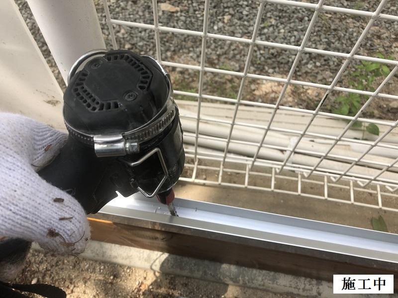 宝塚市 保育園 園庭土留め工事イメージ06