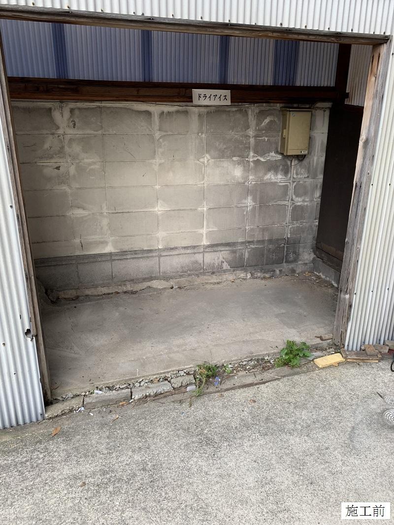 宝塚市 ゴミステーションボックス(大)設置工事イメージ03