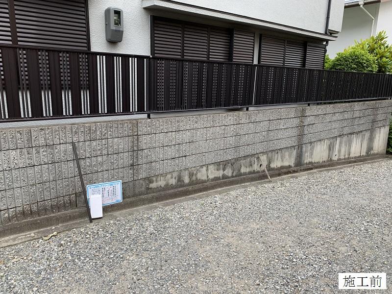 宝塚市 ゴミステーションボックス(オーダー)設置工事イメージ05
