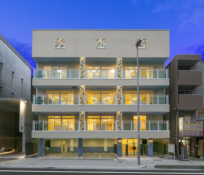 神戸市東灘区 保育園新築工事イメージ01