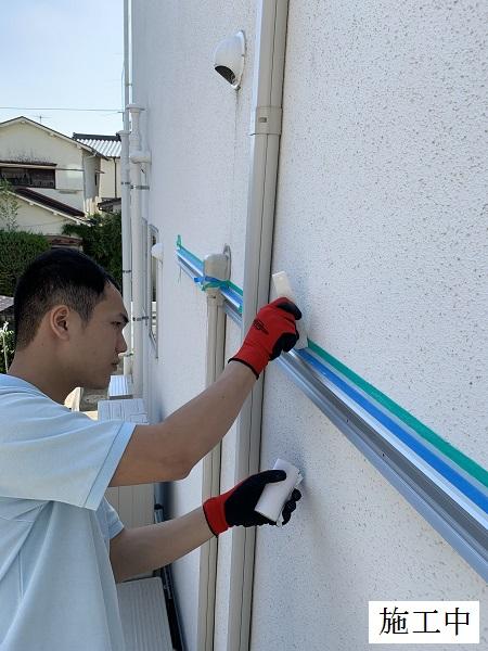 宝塚市 テラス屋根(自転車置き場)設置工事イメージ05