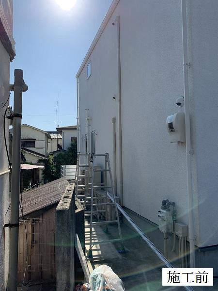 宝塚市 テラス屋根(自転車置き場)設置工事イメージ03