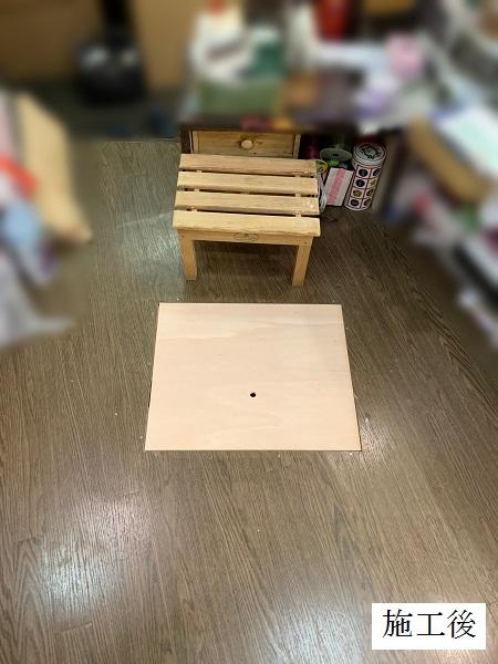 宝塚市 店舗 カウンター内床改修工事イメージ05