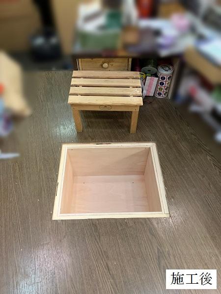 宝塚市 店舗 カウンター内床改修工事イメージ04