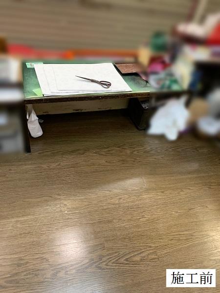 宝塚市 店舗 カウンター内床改修工事イメージ06