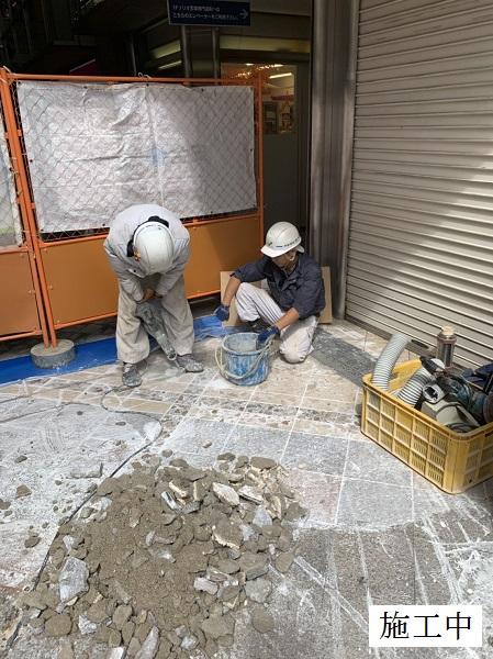 宝塚市 商業施設 アーケード雨水対策工事イメージ05