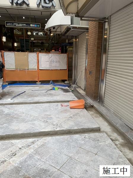 宝塚市 商業施設 アーケード雨水対策工事イメージ07