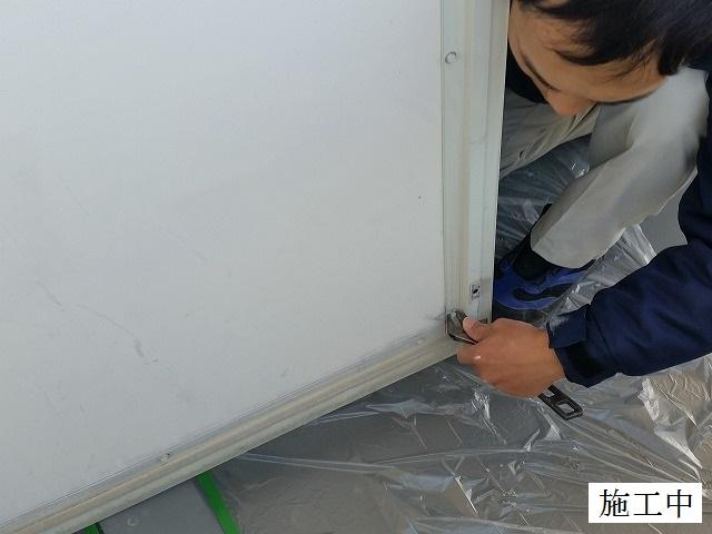 宝塚市 マンション ベランダ隔て板修繕工事イメージ03