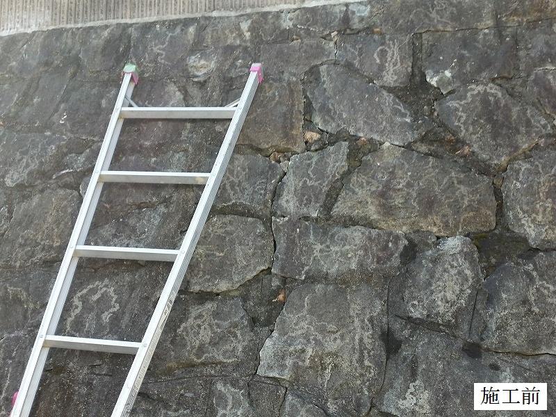 宝塚市 石積み擁壁部分補修イメージ03