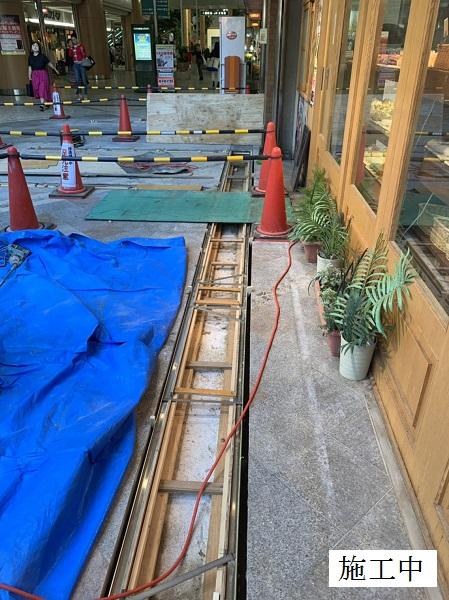 宝塚市 商業施設 アーケード雨水対策工事イメージ08