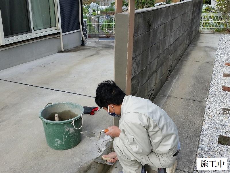 宝塚市 ブロック塀一部解体イメージ04