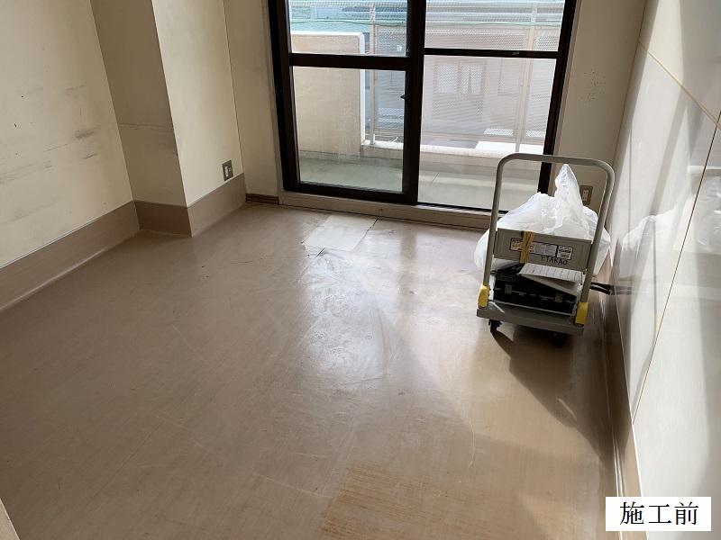 宝塚市 福祉施設 個室床修繕イメージ02