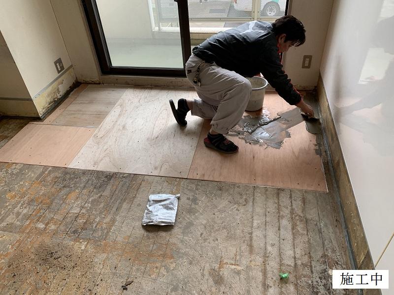 宝塚市 福祉施設 個室床修繕イメージ06