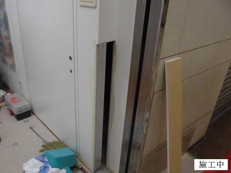 豊中市 店舗 壁補修工事イメージ03