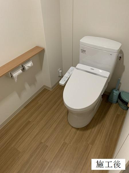 宝塚市 ビルディング トイレ改修工事イメージ01