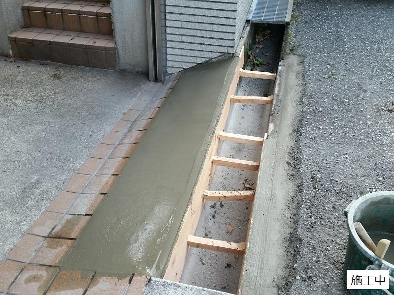 宝塚市 車庫前改修工事イメージ09