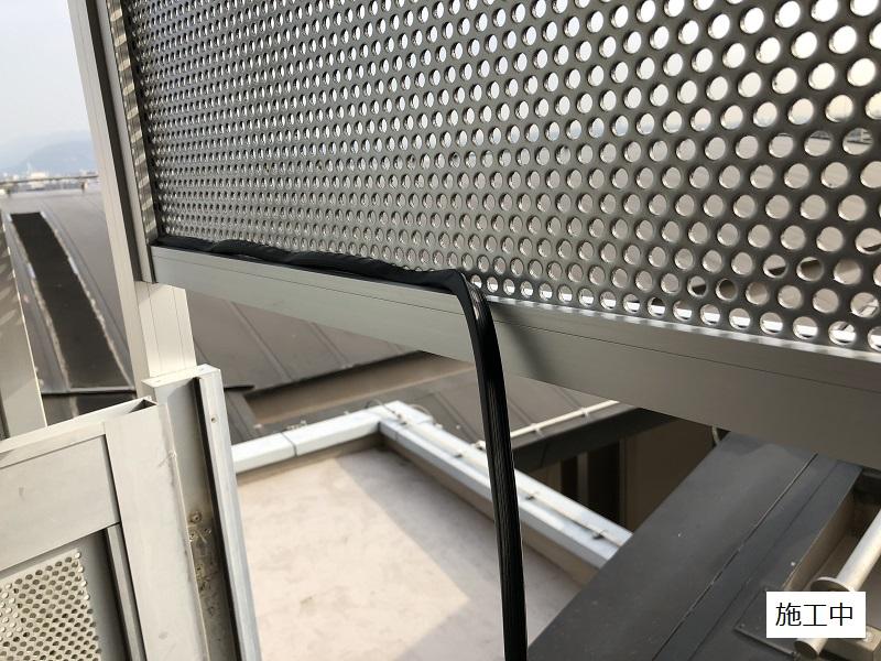 伊丹市 マンション 侵入防止壁設置工事イメージ07