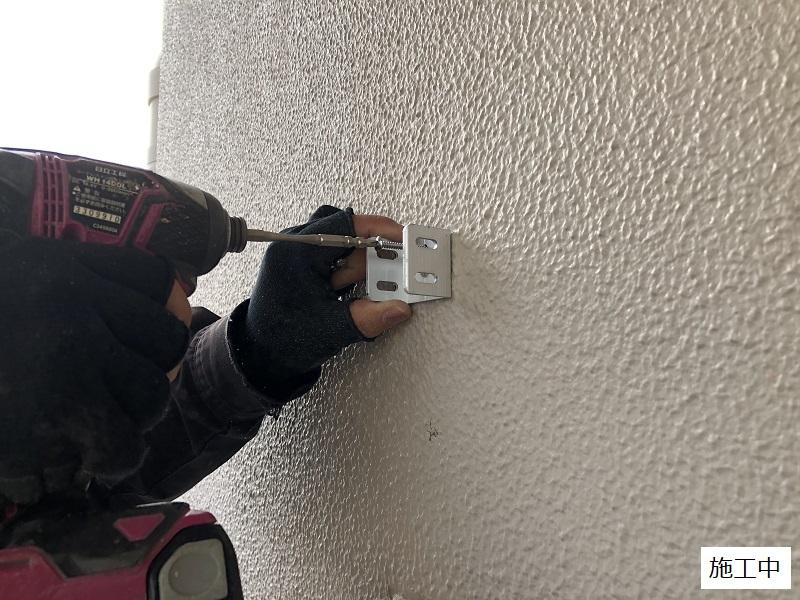 伊丹市 マンション 侵入防止壁設置工事イメージ03
