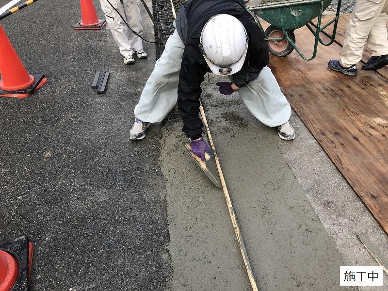 池田市 施設 駐車場入り口L字側溝補修工事イメージ08