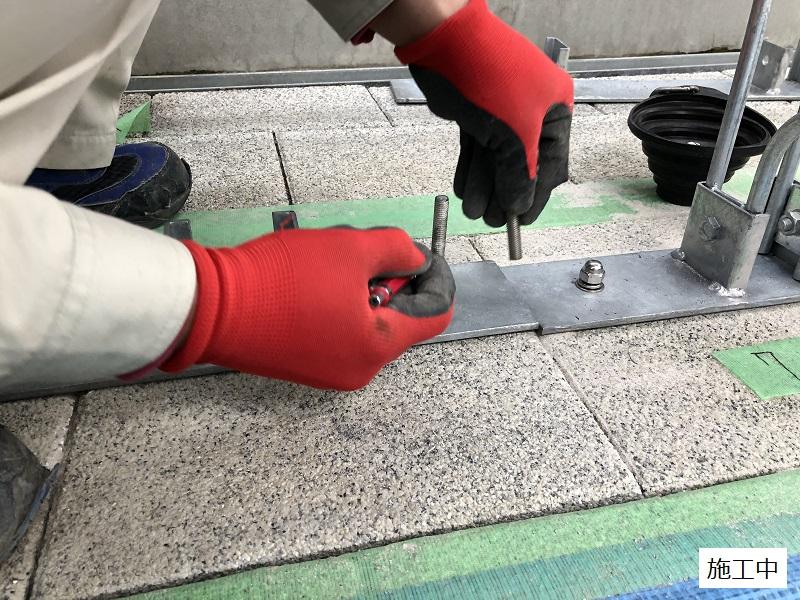 池田市 施設 駐輪場ラック設置工事イメージ08