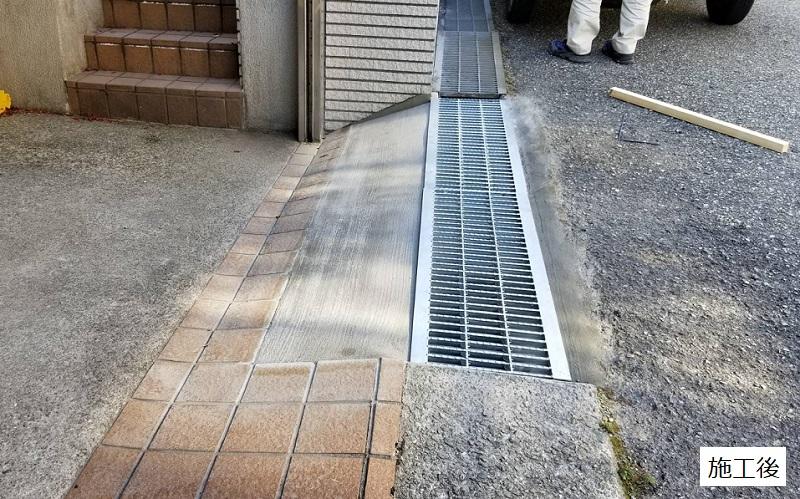 宝塚市 車庫前改修工事イメージ02