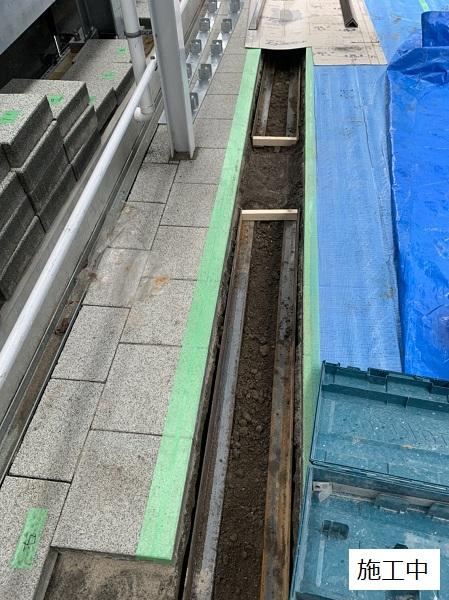 池田市 施設 駐輪場ラック設置工事イメージ05