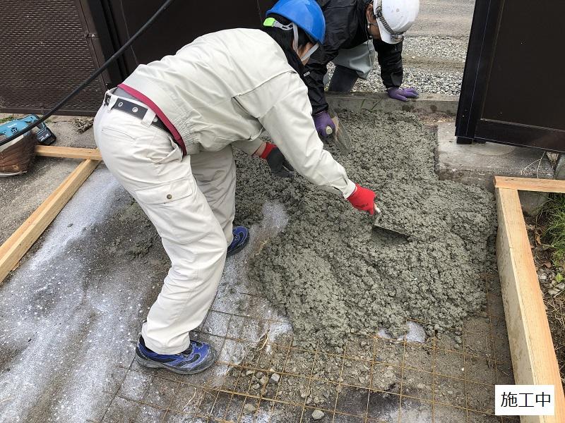 池田市 施設 フェンス出入口扉・スロープ設置工事イメージ08