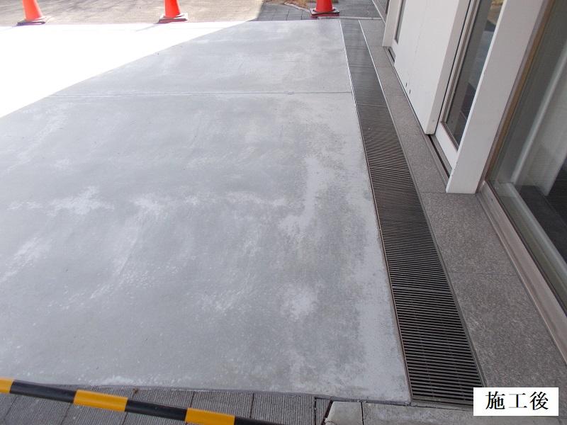 池田市 施設 玄関前舗装補修工事イメージ02