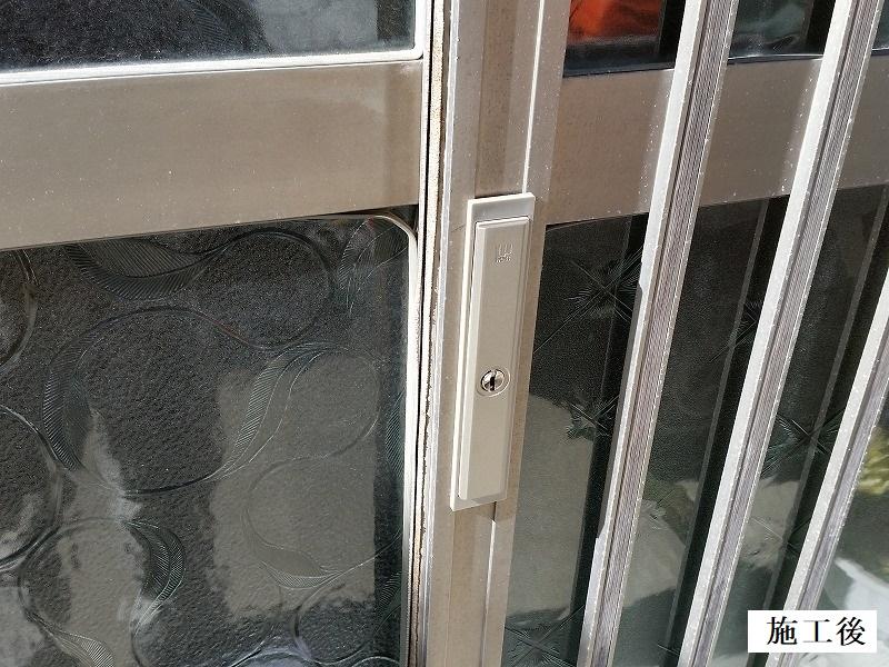 宝塚市 玄関錠取り替えイメージ01