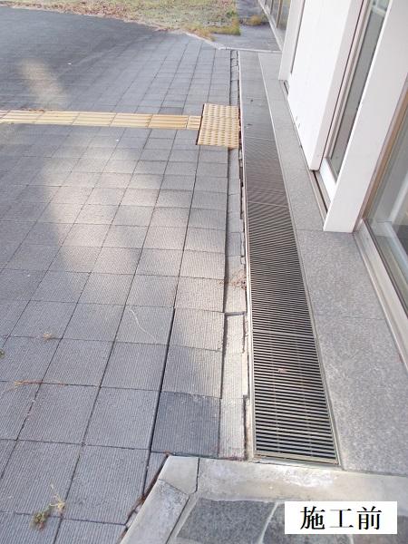 池田市 施設 玄関前舗装補修工事イメージ03