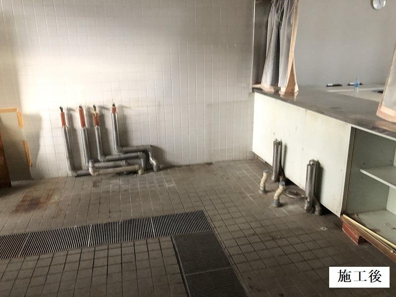 宝塚市 公共施設 厨房機器撤去及び天井修繕工事イメージ02