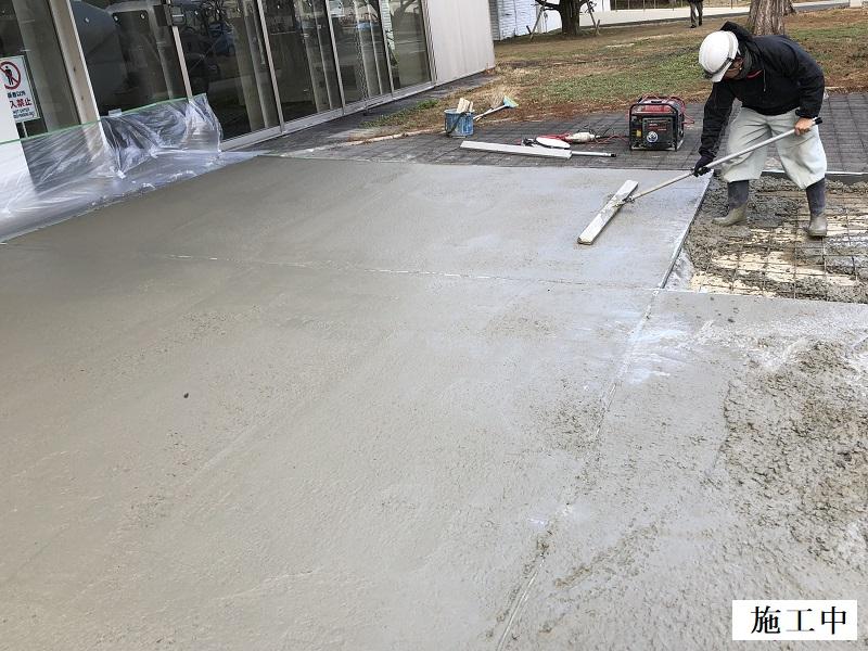 池田市 施設 玄関前舗装補修工事イメージ08