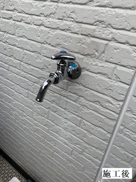 宝塚市 洗濯機パン・浴室水栓・単水栓 取り換え工事イメージ07