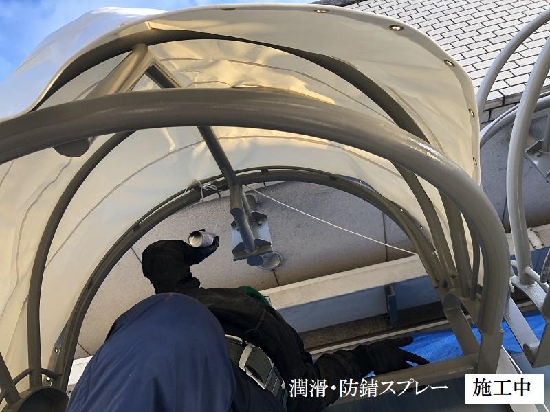 宝塚市 商業施設 テラステント庇修繕工事イメージ08
