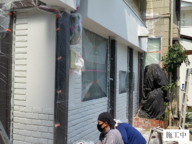 宝塚市 美容室 外壁改修イメージ03