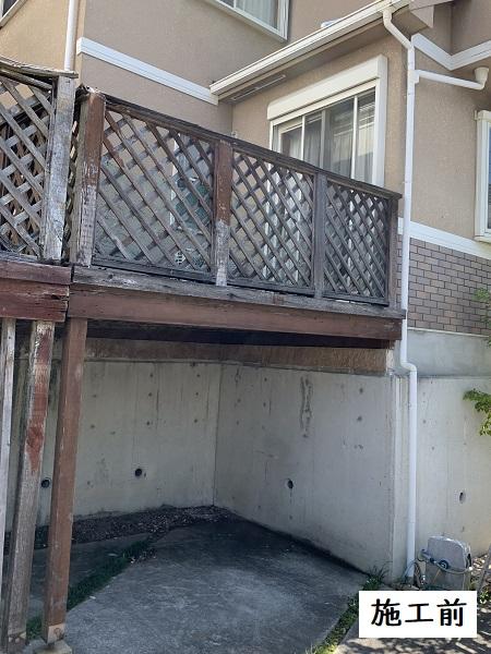 西宮市 ウッドデッキ改修工事イメージ03