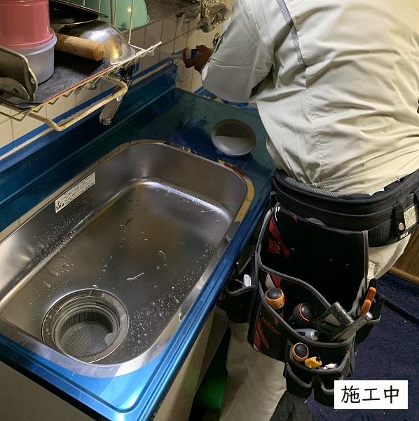 宝塚市 流し台入替工事イメージ03