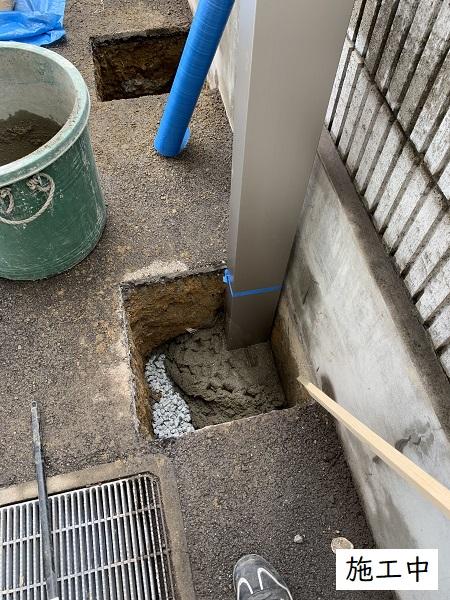 宝塚市 事業所 駐輪スペース設置工事イメージ08