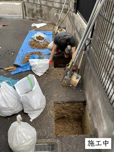 宝塚市 事業所 駐輪スペース設置工事イメージ07