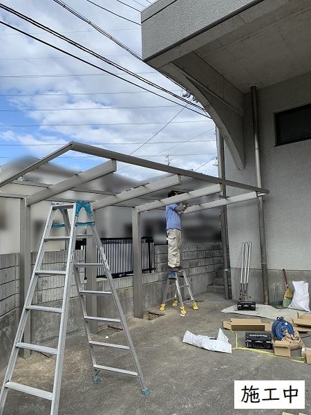宝塚市 事業所 駐輪スペース設置工事イメージ09