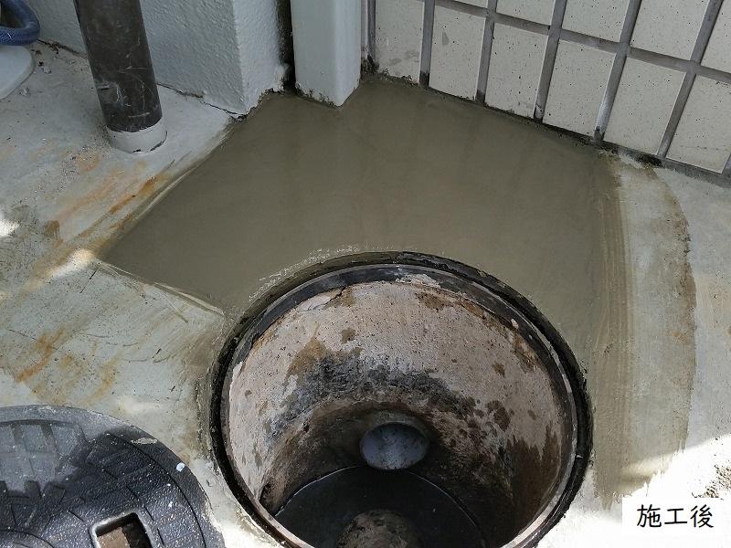 宝塚市 浴室排水管修繕工事イメージ01